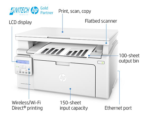 Máy In Đa Chức Năng HP LaserJet Pro M130nw