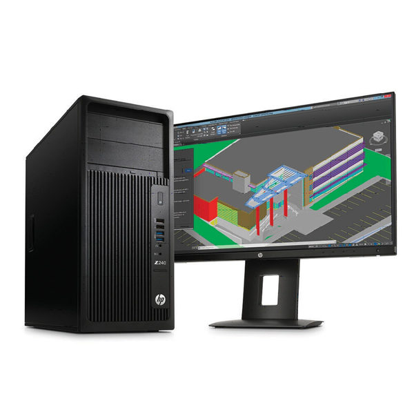 HP Z240 Xeon E3-1225V6-8GB-P2000 Tower Workstation