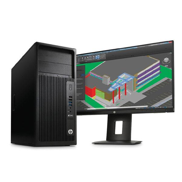 HP Z240 Xeon E3-1225V6-8GB-P600 Tower Workstation