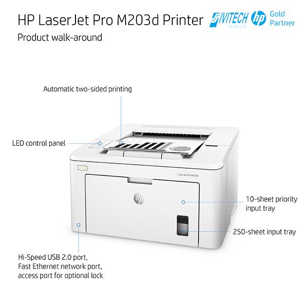 Máy-in-HP-LaserJet-Pro-M203d-(G3Q50A).-9