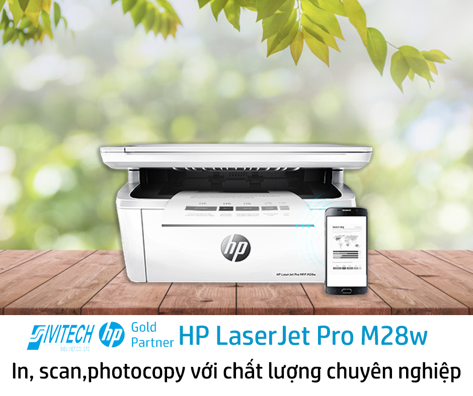 Đánh Giá Máy In Đa Chức Năng HP LaserJet Pro M28w