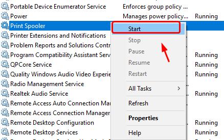 Cách sửa lỗi máy in bị offline trên Windows 10