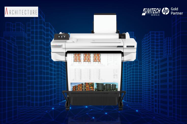 Máy in HP DesignJet T530 24 inch (5ZY60A)