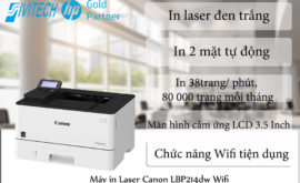 Đánh giá máy in Canon LBP 214DW