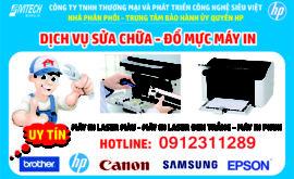 Thay mực máy in giá rẻ tại nhà quận Thanh Xuân
