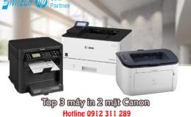 Top 3 máy in 2 mặt thông dụng cho văn phòng