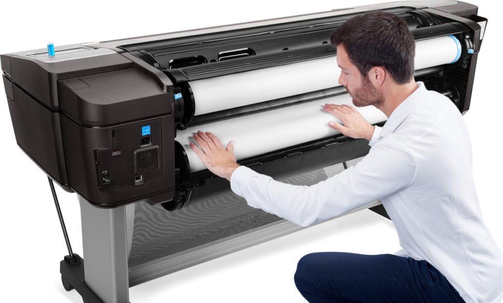 HP Designjet T1708 - Lựa chọn tối ưu cho in ấn khổ lớn