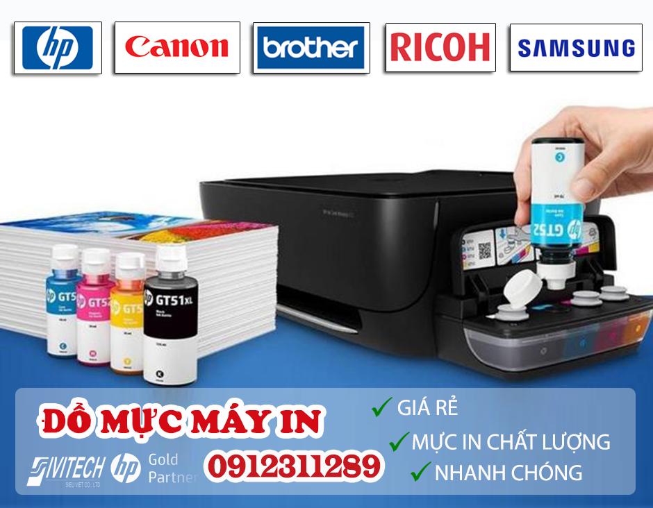 Cơ sở đổ mực máy in chính hãng giá rẻ tại Hà Nội