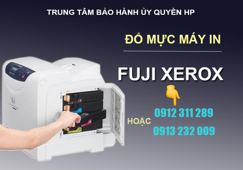 đổ mực máy in fuji Xerox